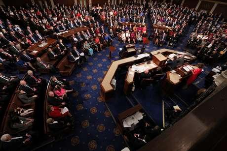Câmara dos Deputados dos EUA 03/01/2019 REUTERS/Jonathan Ernst