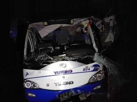 Ônibus acidentado viajava entre Baracoa e Havana