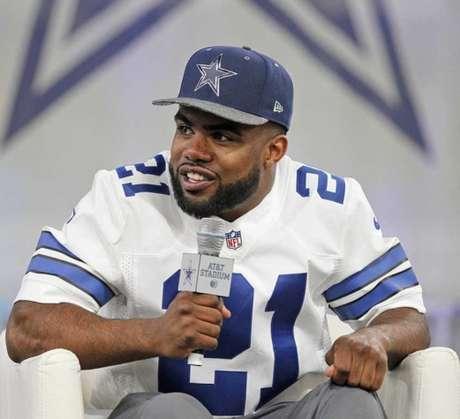 Ezekiel Elliott é o craque do Dallas (Foto: Divulgação/NFL)