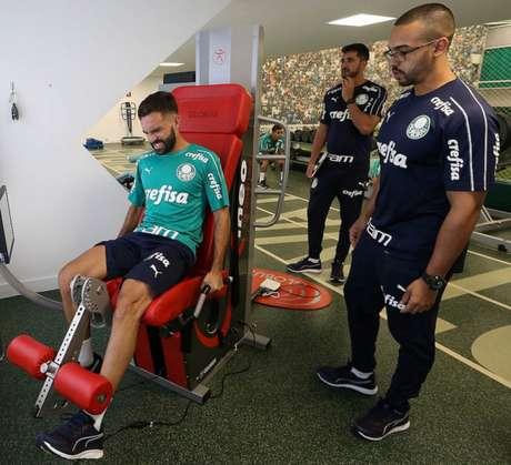 Allione jogará a próxima temporada no Rosário Central (ARG). Ele foi emprestado pelo Verdão (Foto: Cesar Greco)