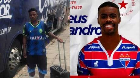 Ramon e Matheus Alessandro foram emprestados (Foto: Divulgação)