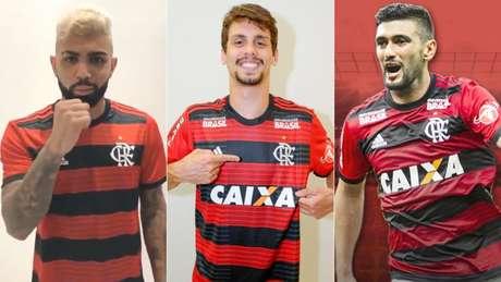 Jogadores de impacto chegam ao Flamengo com desafio (Divulgação)