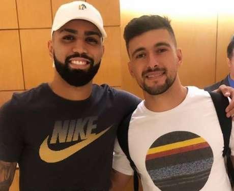 Gabigol e Arrascaeta: dupla deve ser anunciada pelo Flamengo nesta sexta-feira (Foto: Reprodução)