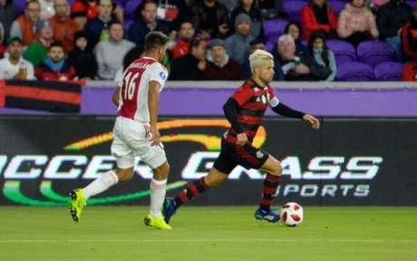 Diego foi titular do time (Alexandre Vidal / Flamengo)