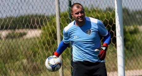 Agenor disputará posição com Rodolfo (Foto: Divulgação/Fluminense)
