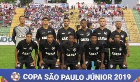 Equipe do Botafogo nesta Copa São Paulo de Futebol Júnior (Foto: Divulgação)