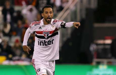 Nenê marcou o gol do São Paulo na estreia pela Florida Cup - FOTO: Rubens Chiri/saopaulofc.net