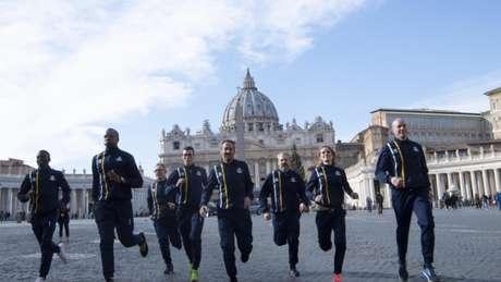 Athletica Vaticana é a equipe de atletismo da cidade-Estado do Vaticano (Foto: Divulgação)