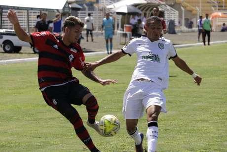 Figueirense venceu Flamengo por 1 a 0 e avançou à terceira fase da Copinha (Foto: Divulgação/Flamengo)