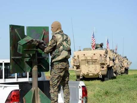 EUA começa retirada de tropas na Síria
