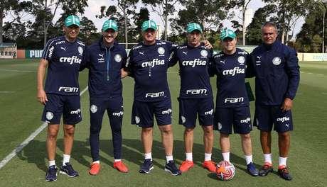 Comissão técnica do Palmeiras vai monitorar testes para definir o time titular