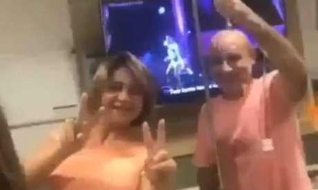 Ex-assessor de Flávio Bolsonaro, Fabrício Queiroz dança em hospital