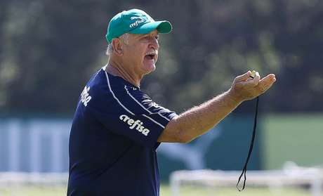 Felipão comandará o Palmeiras no primeiro jogo-treino desta temporada (Foto: Cesar Greco)