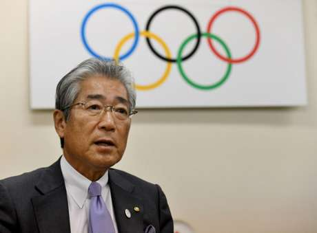 Takeda é presidente do Comitê Olímpico japonês desde 2001 (Foto: Toshifumi KITAMURA / AFP)