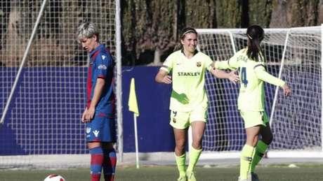 Mariona marcou e Barcelona venceu Levante na Liga Iberdrola (Foto: Divulgação/Liga Iberdrola)