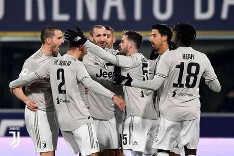 Juventus não teve dificuldades para bater o Bologna neste sábado (Divulgação)