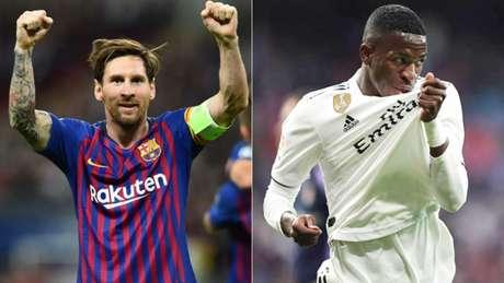Barcelona é líder da competição, enquanto o o Real Madrid amarga apenas a 5ª posição (Divulgação)