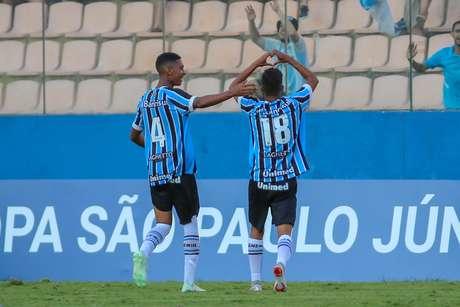 Grêmio bateu o São Bernardo na Copinha