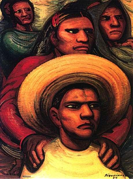 O correto (D. A.Siqueiros, 1954)