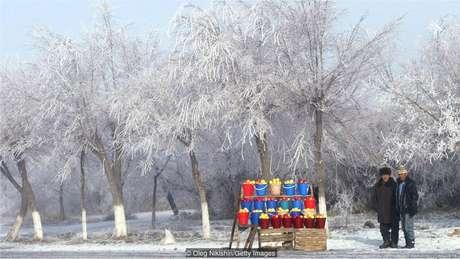 A Rota da Seda levou maçã do Cazaquistão para Europa, China e, eventualmente, América do Norte