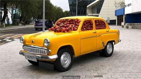 """Almaty costumava ser chamada de Alma-Ata, ou """"pai das maçãs"""""""