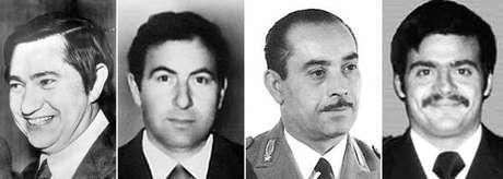 Pierluigi Torregiani, Lino Sabbadin, Antonio Santoro e Andrea Campagna, as vítimas de Battisti