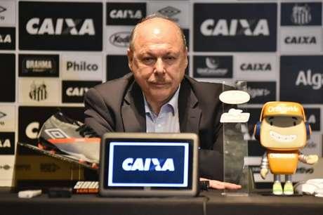 José Carlos Peres pretende contratar Pablo Pérez nos próximos dias: 'Não vai ser difícil' (Foto: Ivan Storti/Santos)