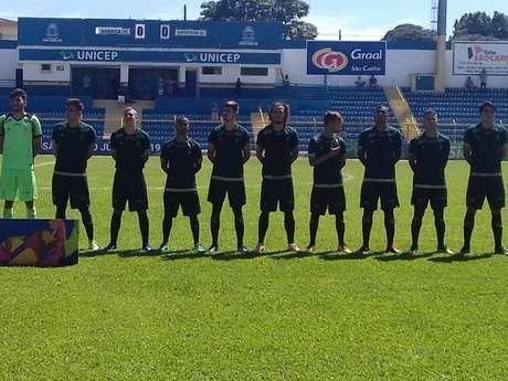 O Coelho sub-20 sucumbiu diante dos meninos do Botafogo-Divulgação América-MG