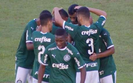 Palmeiras vence Galvez-AC e esta nas oitavas de final da Copinha (Foto: Reprodução)