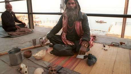 Aghoris também servem como atração turística na Índia