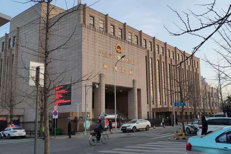 Prédio da corte intermediária de Dalian 14/01/2019 REUTERS/Stringer