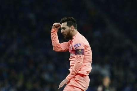 Atlético de Madrid, Sevilla e Espanyol estão entre as principais vítimas de Messi (Foto: Pau Barrena / AFP)