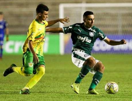 Palmeiras bateu o Galvez por 3 a 0 e avançou às oitavas de final da Copa São Paulo (Foto: Divulgação/Palmeiras)