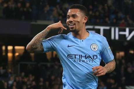 Gabriel Jesus faz dois, e Manchester City derrota o Wolves pelo Inglês (Foto: AFP)