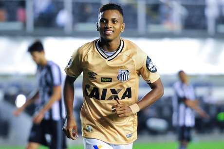 Rodrygo é um dos destaques do Santos