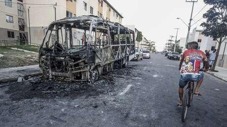 Ataques no Ceará começaram no dia 2 de janeiro e já somam mais de 190 episódios em 43 municípios