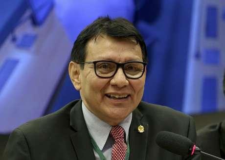 O presidente da Fundação Nacional do Índio (Funai), Franklimberg Ribeiro de Freitas