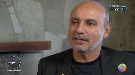 Fabrício Queiroz, ex-assessor de Flávio Bolsonaro (PSL), em entrevista ao SBT antes de passar por cirurgia em São Paulo