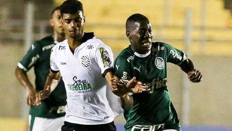 Figueirense eliminou o Palmeiras da Copinha