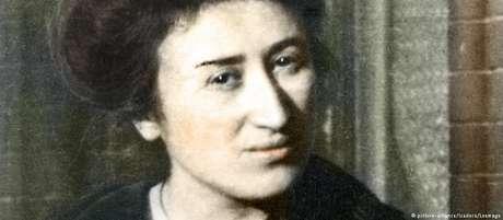 A ativista, teórica e política Rosa Luxemburgo