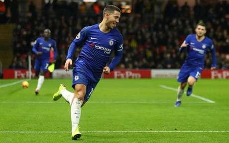 Hazard tem dez gols e dez assistências na Premier League (Foto: Divulgação)