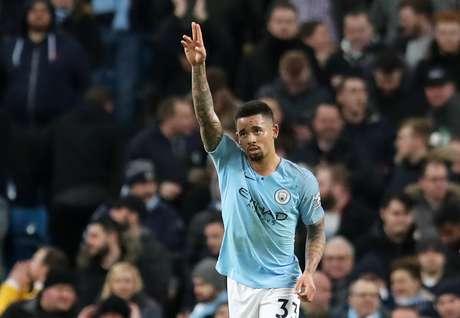 Gabriel Jesus comemora boa fase no Manchester City