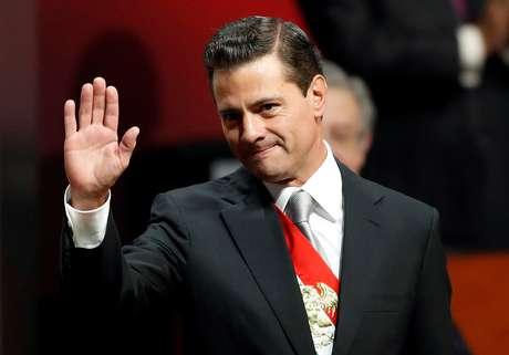 Ex-presidente mexicano Enrique Peña Nieto na Cidade do México 03/09/2018 REUTERS/Carlos Jasso