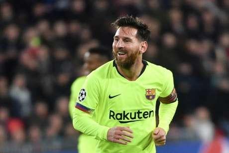 Messi chegou ao gol de número 400 na La Liga na vitória por 3 a 0 sobre o Eibar (AFP)