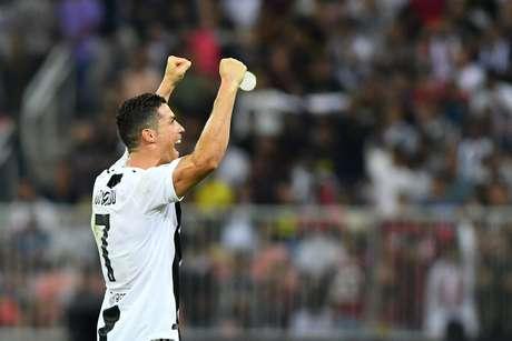 Cristiano Ronaldo marcou na conquista do título da Juventus