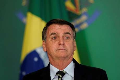 Presidente Jair Bolsonaro em cerimônia no Palácio do Planalto 15/01/2019 REUTERS/Ueslei Marcelino
