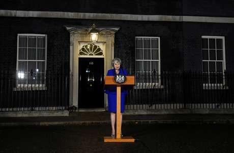 Premiê britânica, Theresa May 16/01/2019 REUTERS/Clodagh Kilcoyne