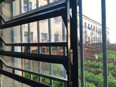 Visão de uma janela interna na Penitenciária Estadual de Dourados, Mato Grosso do Sul 23/08/2018 Thomson Reuters Foundation/Karla Mendes