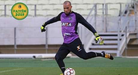 Éverson é o alvo do Santos para dar mais opção de goleiro ao argentino Jorge Sampaoli (Foto: Ceará/Divulgação)