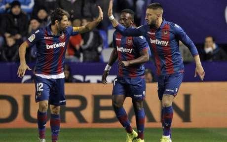 Levante venceu o jogo de ida contra o Barcelona (Foto: Divulgação)